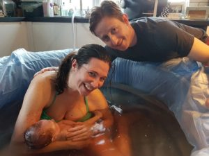 My amazing hypnobirthing home birth